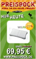 Preisbock Wii fit