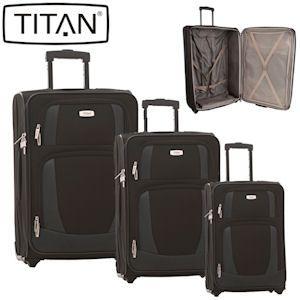 titan 3er koffer set merik 2 f r 80. Black Bedroom Furniture Sets. Home Design Ideas