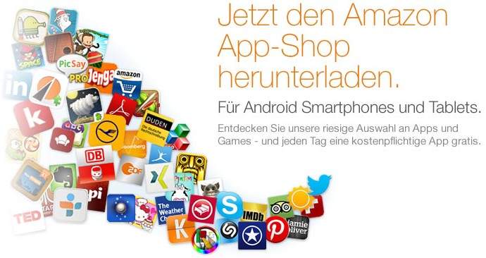 Amazon Android App Shop