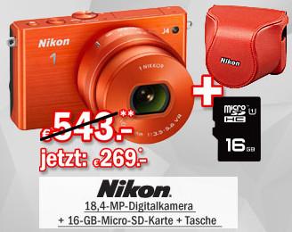 Nikon 1J4 Set orange
