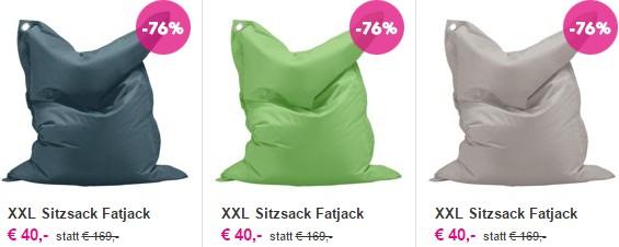XXL Sitzsack Fatjack