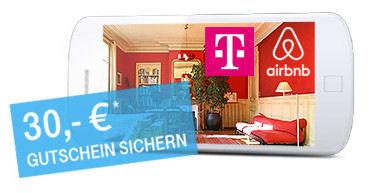 30 Euro Rabatt für Airbnb Neukunden