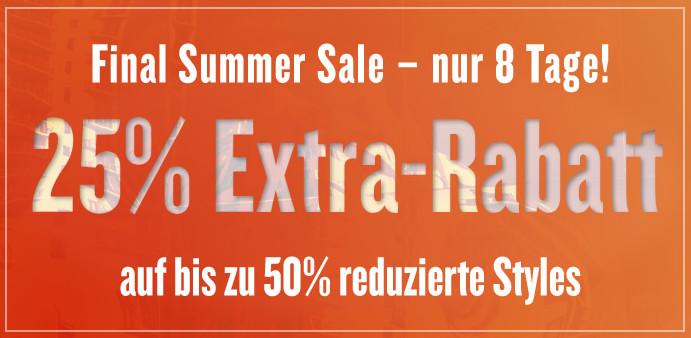 Tom Tailor 50% Sale mit 25% Gutschein