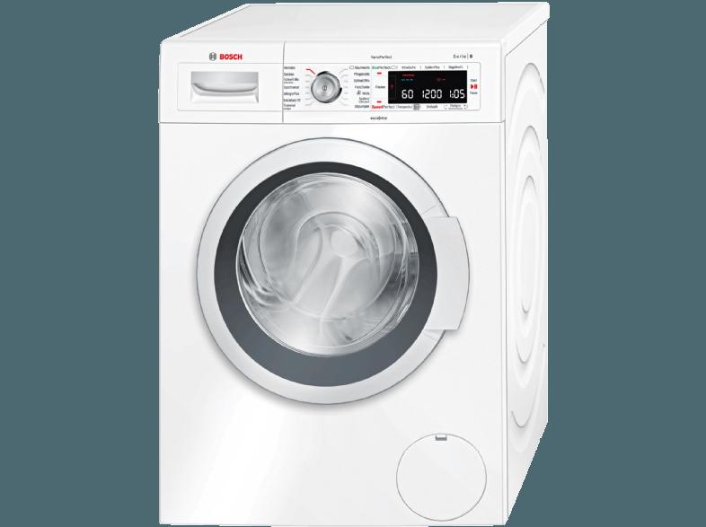 bosch waw 28550 frontlader waschmaschine f r 529. Black Bedroom Furniture Sets. Home Design Ideas