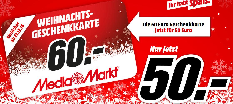 60 Euro Mediamarkt Geschenkkarte